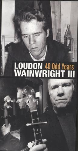 Loudon Wainwright III 40 Odd Years CD Album Box Set US LWWDXOD719537