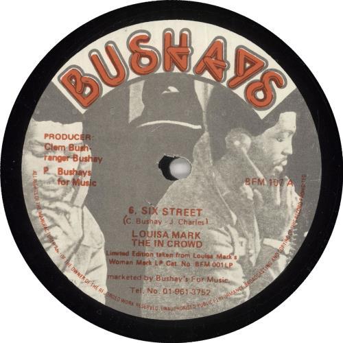 "Louisa Mark 6 Six Street 12"" vinyl single (12 inch record / Maxi-single) UK QS812SI723074"