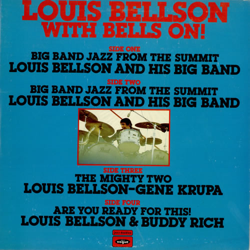 Louis Bellson With Bells On! 2-LP vinyl record set (Double Album) UK LJH2LWI495897