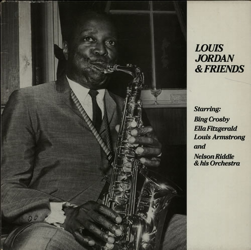 Louis Jordan Louis Jordan & Friends vinyl LP album (LP record) UK LJDLPLO630225