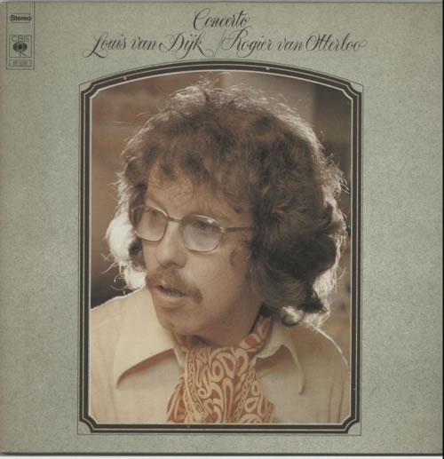 Louis Van Dijk & Rogier Van Otterloo Concerto vinyl LP album (LP record) Dutch L8VLPCO606450