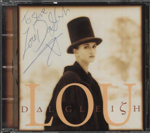 Lou Dalgleish Lou Dalgleish - Autographed CD album (CDLP) UK 0O2CDLO729064