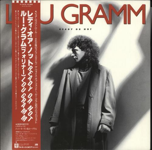 Lou Gramm Ready Or Not vinyl LP album (LP record) Japanese LGRLPRE718654