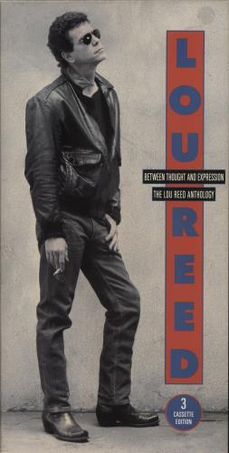 Lou Reed Between Thought And Expression - The Lou Reed Anthology box set US LOUBXBE708940