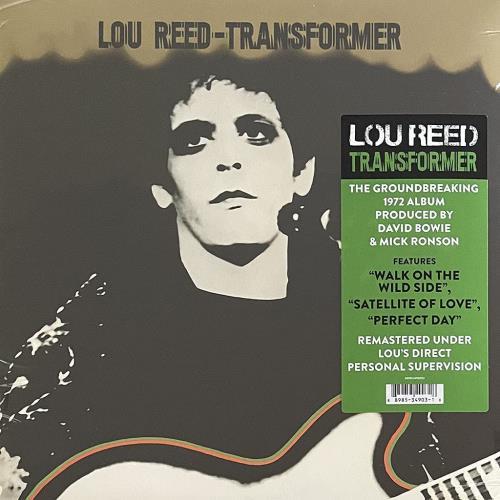Lou Reed Transformer - Remastered - Sealed vinyl LP album (LP record) UK LOULPTR776309