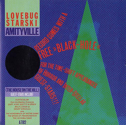 "Lovebug Starski Amityville (The House On The Hill) 7"" vinyl single (7 inch record) US LCZ07AM483692"