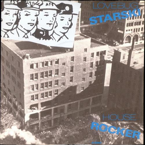 """Lovebug Starski House Rocker 7"""" vinyl single (7 inch record) UK LCZ07HO503073"""