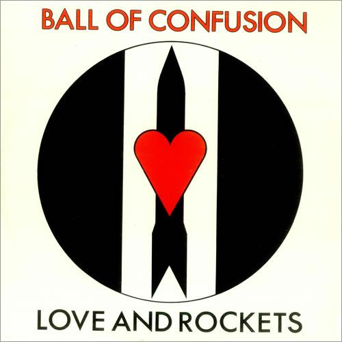 "Love & Rockets Ball Of Confusion 12"" vinyl single (12 inch record / Maxi-single) UK L&R12BA102283"