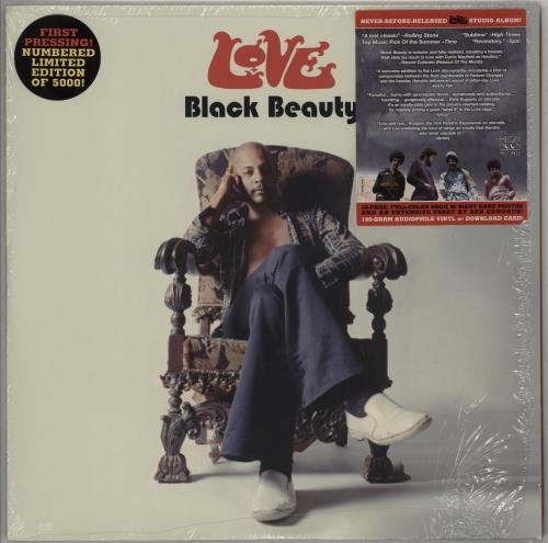 Love Black Beauty - 180 Gram vinyl LP album (LP record) US LOVLPBL750903