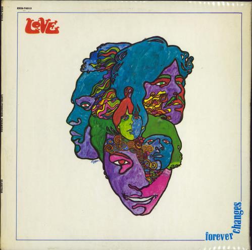 Love Forever Changes - 1st - EX vinyl LP album (LP record) UK LOVLPFO769274