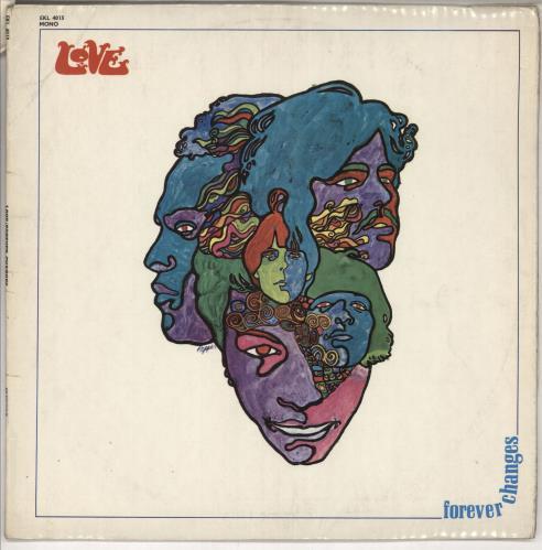 Love Forever Changes - EX vinyl LP album (LP record) UK LOVLPFO557665