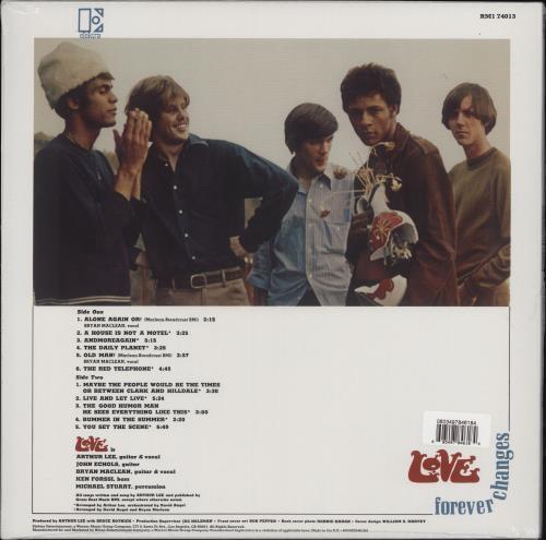 Love Forever Changes: Mono Mix - 180gm Vinyl - Sealed vinyl LP album (LP record) UK LOVLPFO753952