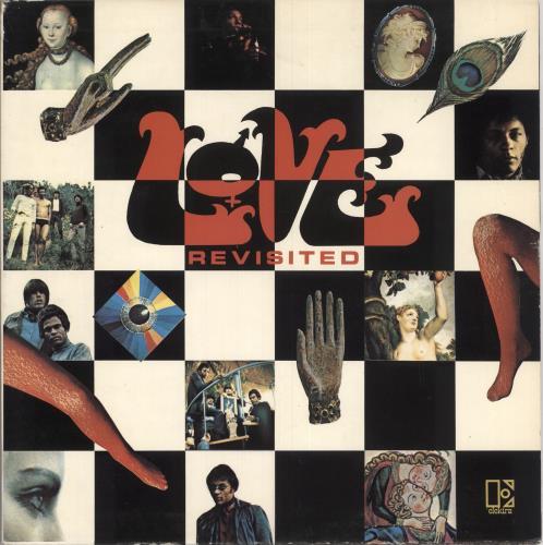 Love Revisited - butterfly label vinyl LP album (LP record) UK LOVLPRE745256