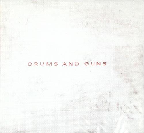 Low Drums And Guns CD album (CDLP) UK LAJCDDR515832