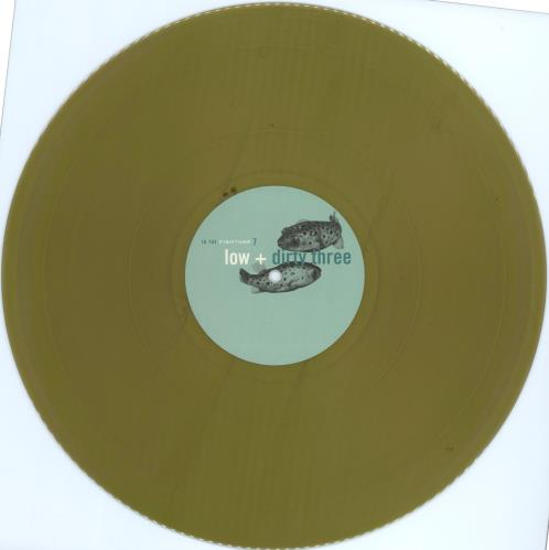"Low In The Fishtank 7 - Gold Vinyl 12"" vinyl single (12 inch record / Maxi-single) Dutch LAJ12IN704170"