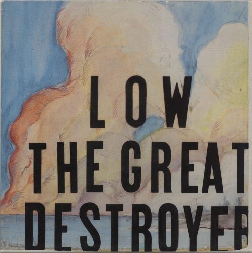 Low The Great Destroyer + Insert 2-LP vinyl record set (Double Album) UK LAJ2LTH690680