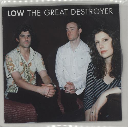 Low The Great Destroyer CD album (CDLP) UK LAJCDTH316531