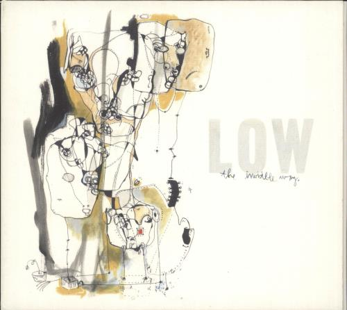 Low The Invisible Way CD album (CDLP) UK LAJCDTH721363