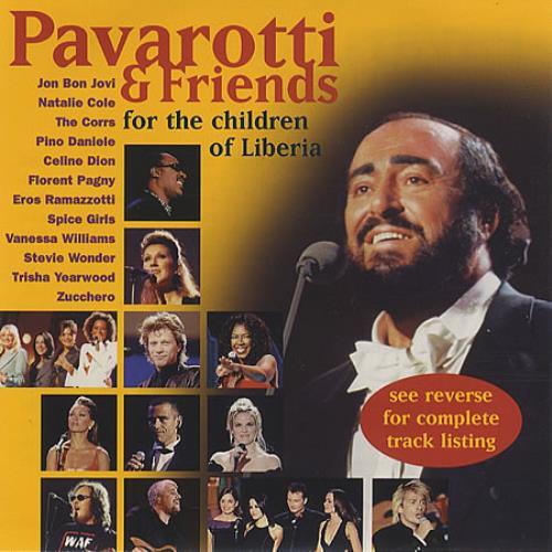 Luciano Pavarotti For The Children Of Liberia Us Promo Cd