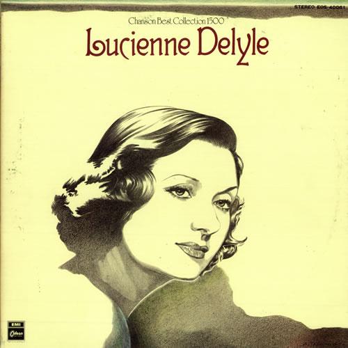 Lucienne Delyle Chanson Best Collection 1500 vinyl LP album (LP record) Japanese 6LDLPCH487677