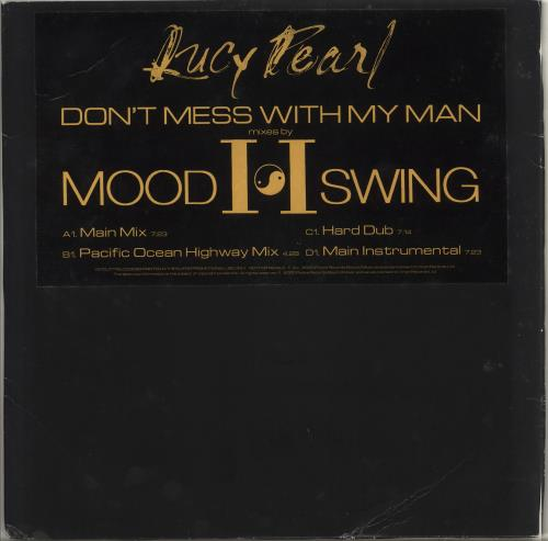 """Lucy Pearl Don't Mess With My Man 12"""" vinyl single (12 inch record / Maxi-single) UK LCP12DO707417"""
