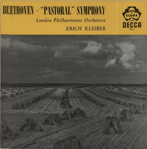 Ludwig Van Beethoven Beethoven: Symphony No. 6 ('Pastoral') In F Major, Op. 68 vinyl LP album (LP record) UK LVBLPBE680343