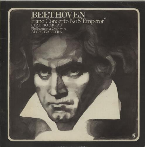"Ludwig Van Beethoven Concerto No. 5 in E Flat Major, Op.73 ""Emperor"" vinyl LP album (LP record) UK LVBLPCO687909"