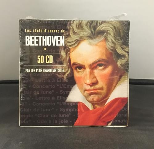 Ludwig Van Beethoven Les Chefs d'ouvre de Beethoven en 50 CD CD Album Box Set French LVBDXLE663580