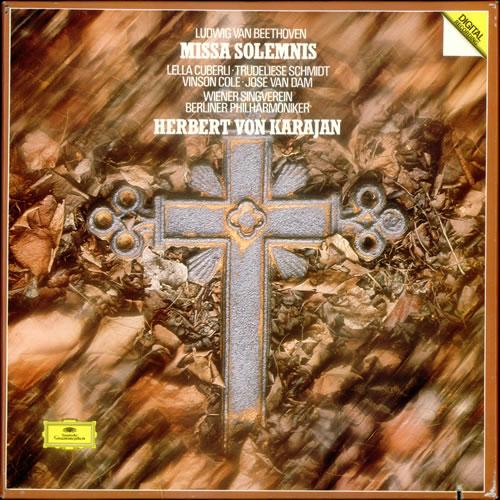 Ludwig Van Beethoven Missa Solemnis Vinyl Box Set German LVBVXMI533879