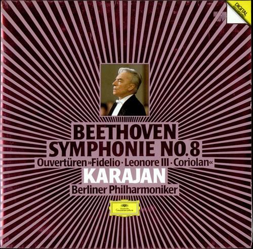 Ludwig Van Beethoven Symphonie No. 8 vinyl LP album (LP record) German LVBLPSY526181