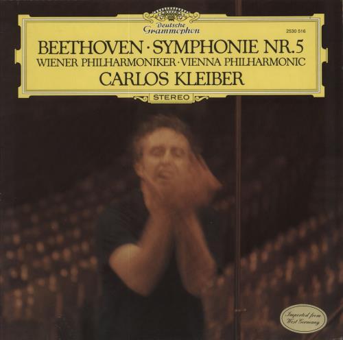 Ludwig Van Beethoven Symphony No. 5 vinyl LP album (LP record) German LVBLPSY535071