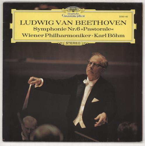 Ludwig Van Beethoven Symphony No.6 in F, Op.68 (Pastoral) vinyl LP album (LP record) UK LVBLPSY733120