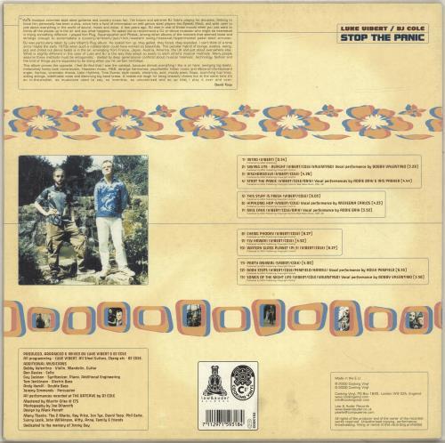 Luke Vibert Stop The Panic 2-LP vinyl record set (Double Album) UK LB52LST697446