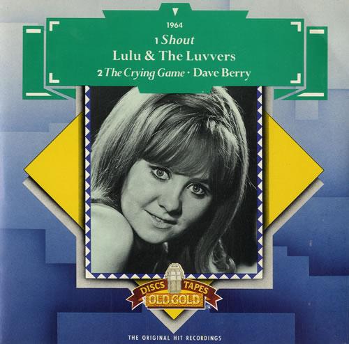 "Lulu Shout - Green Scroll Sleeve 7"" vinyl single (7 inch record) UK LUL07SH596131"
