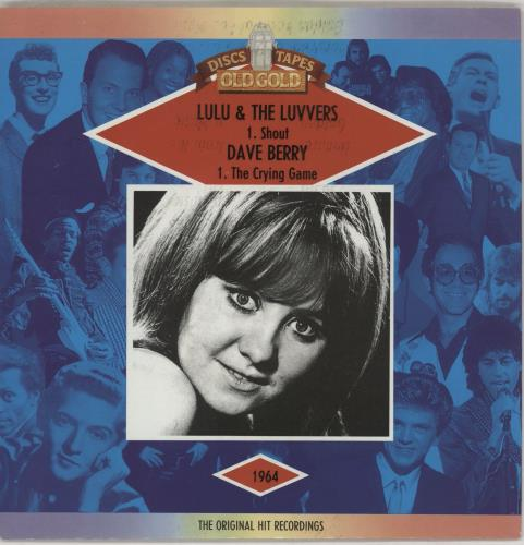 "Lulu Shout - Red Sleeve 7"" vinyl single (7 inch record) UK LUL07SH751262"