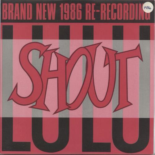 "Lulu Shout 7"" vinyl single (7 inch record) UK LUL07SH483656"