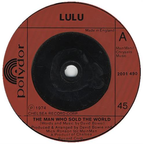 """Lulu The Man Who Sold The World 7"""" vinyl single (7 inch record) UK LUL07TH135840"""