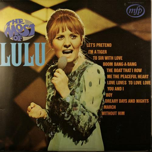 Lulu The Most Of Lulu vinyl LP album (LP record) UK LULLPTH551890
