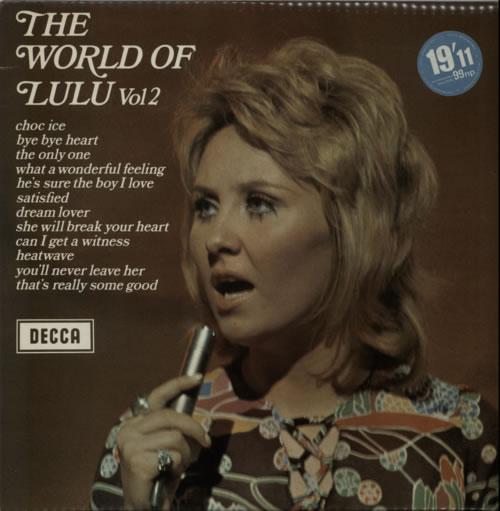 Lulu The World Of Lulu Volume 2 vinyl LP album (LP record) UK LULLPTH242116