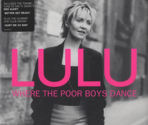 "Lulu Where The Poor Boys Dance CD single (CD5 / 5"") UK LULC5WH192983"
