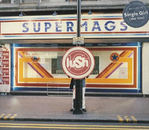 """Lush Single Girl CD single (CD5 / 5"""") UK LUSC5SI82901"""