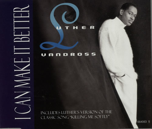 Luther Vandross I Can Make It Better Austrian CD single (CD5 / 5 ...