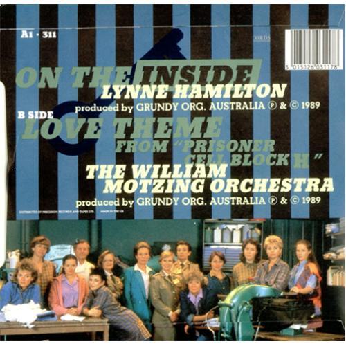 "Lynne Hamilton On The Inside 7"" vinyl single (7 inch record) UK LHA07ON415236"