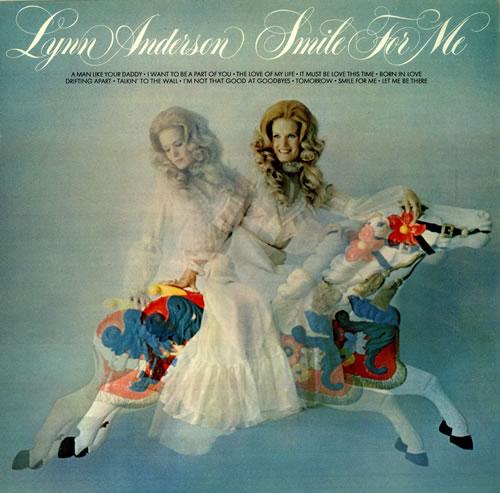 Lynn Anderson Smile For Me UK vinyl LP album (LP record) (457640)