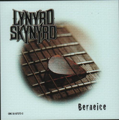 "Lynyrd Skynyrd Berneice CD single (CD5 / 5"") US LRDC5BE121228"