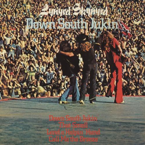 "Lynyrd Skynyrd Down South Jukin' 7"" vinyl single (7 inch record) UK LRD07DO60120"