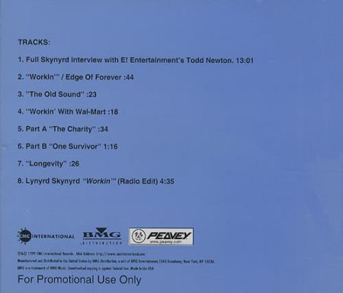 Lynyrd Skynyrd Edge Of Forever Q&A CD album (CDLP) US LRDCDED143820