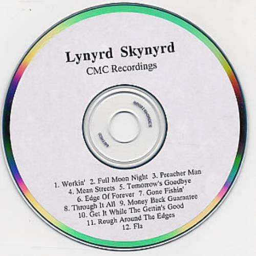 Lynyrd Skynyrd Edge Of Forever CD-R acetate US LRDCRED145721