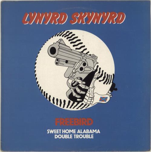 """Lynyrd Skynyrd Freebird + Sleeve 12"""" vinyl single (12 inch record / Maxi-single) UK LRD12FR86167"""