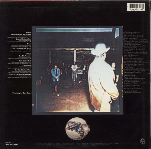 Lynyrd Skynyrd Gimme Back My Bullets vinyl LP album (LP record) US LRDLPGI768856